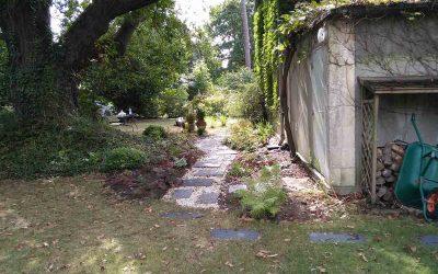 Un jardin rajeuni