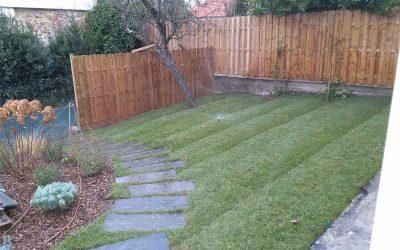 Une nouvelle pelouse pour une nouvelle maison