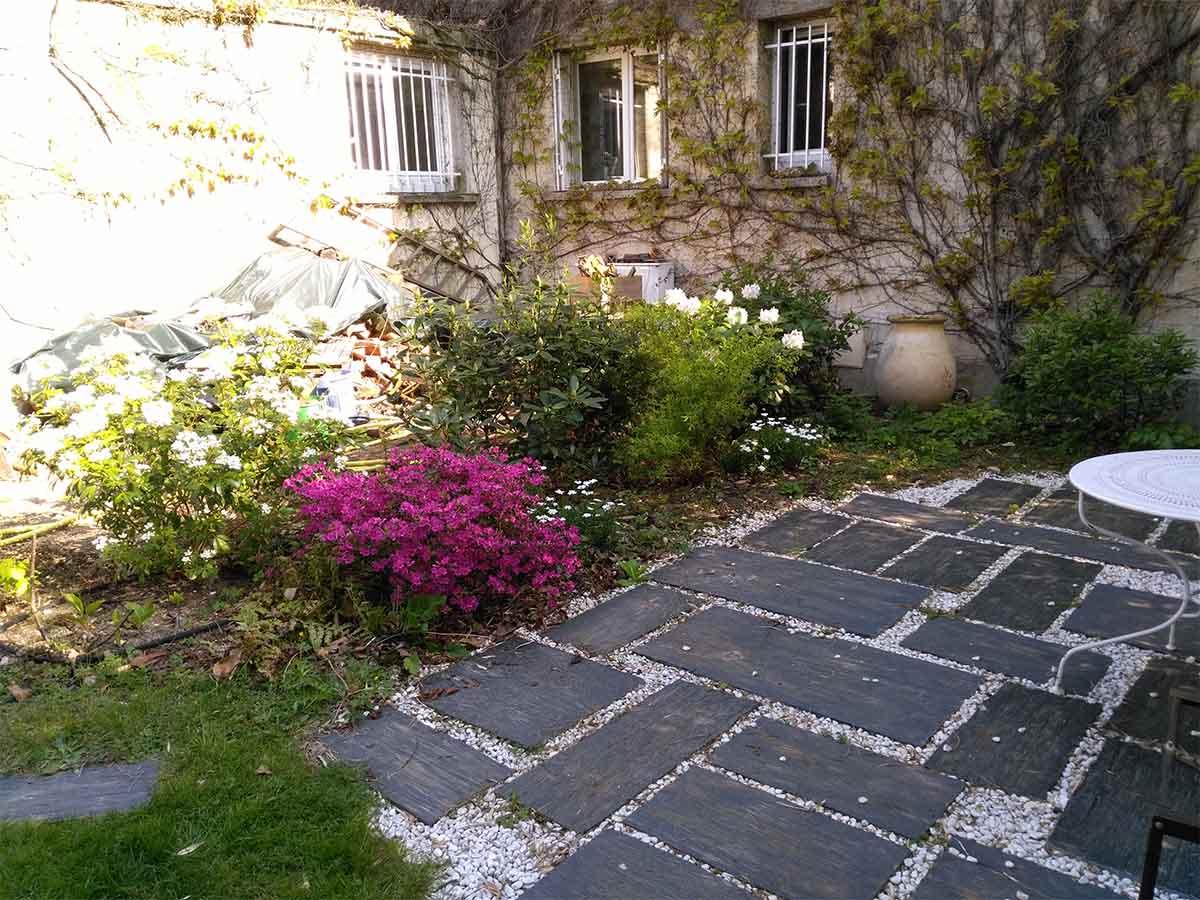 Le jardin 2 ans après