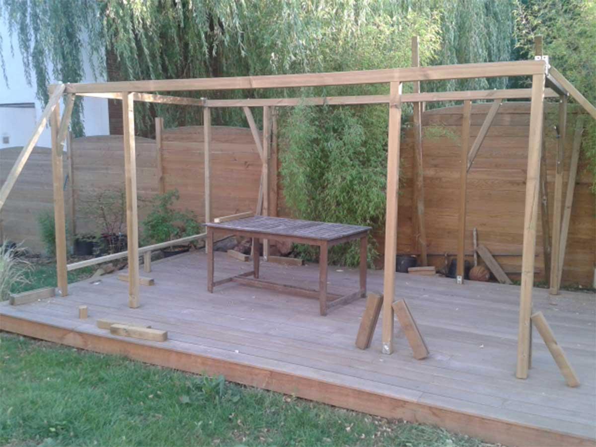 La sablière : une pièce de bois qui solidarise les poteaux