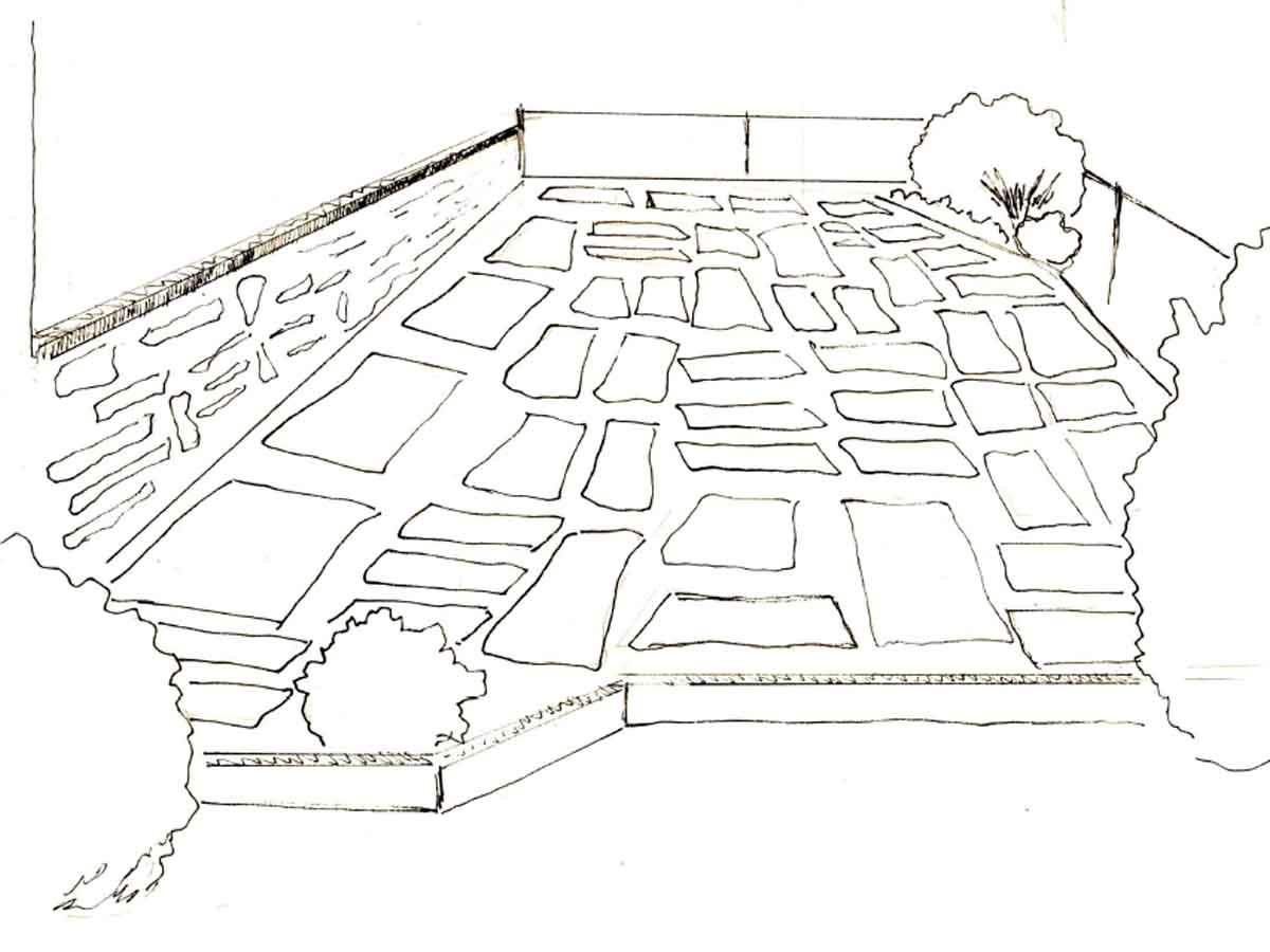 L'objectif : une terrasse