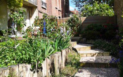 Optimisation de l'espace du jardin et gestion des pentes